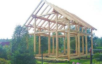 Строительство домов из бруса в Новосибирске. Винтовые сваи Новосибирск для деревянных домов недорого.