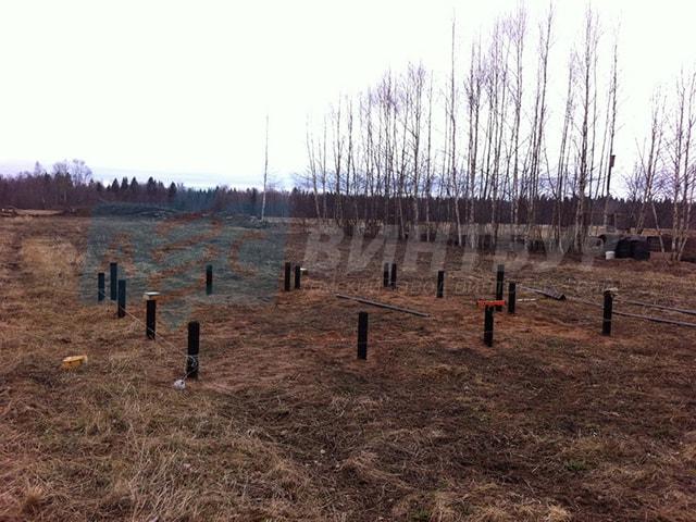 Фундамент на винтовых сваях в Новосибирске в наличии и под заказ. Завод винтовых свай АС-ВинтБур.
