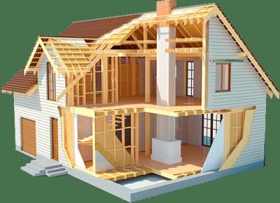 Строительство домов в Новосибирске каркасного типа. Винтовые сваи Новосибирск для строительства дома.