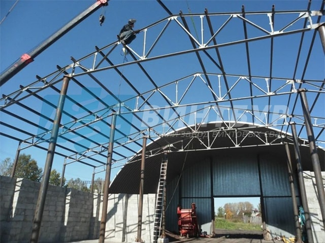 Монтаж металлоконструкций в Новосибирске по низким ценам отличного качества. Завод винтовых свай АС-ВинтБур.